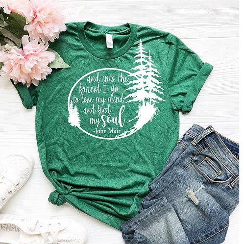 Into the Forest I go Women's T Shirt