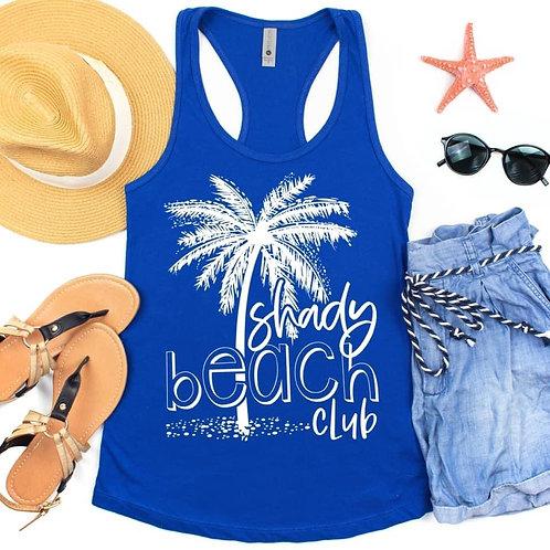 Shady beach club Tank Top