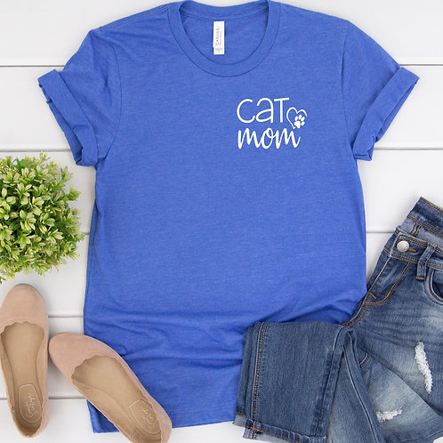 Cat Mom Women's T Shirt