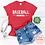 Thumbnail: Baseball Mama Distressed Text Shirt