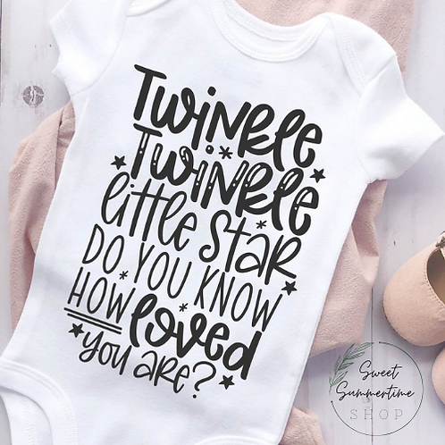 Twinkle Twinkle Baby Outfit