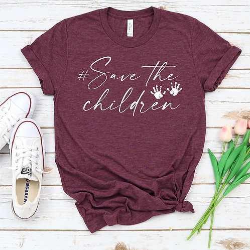 Save the Children T shirt - Racerback - Muscle Tank