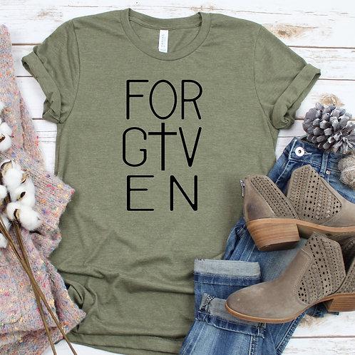 Forgiven Christian Women's T Shirt