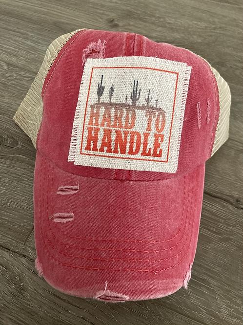 Hard to handle hat