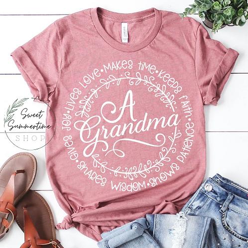 A Grandma Is Shirt