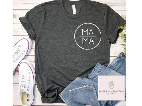 Mama Circle Patch Shirt