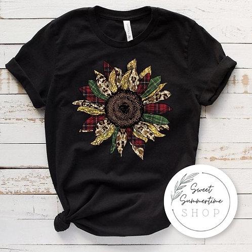 Fall Sunflower tee shirt