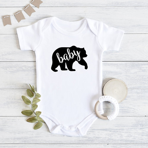 Baby Bear Baby Outfit