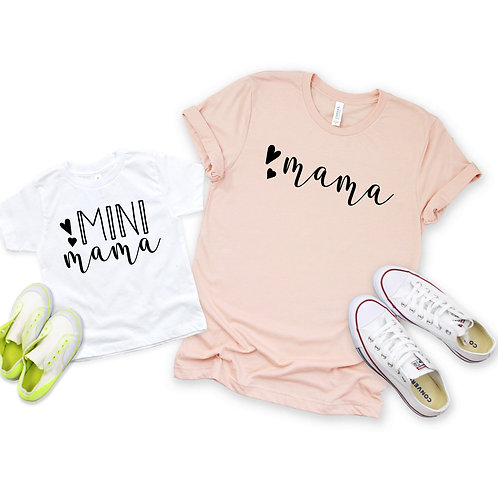 Mama and Mini Mama -  Matching Mommy and me set - Mother's Day