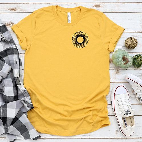 Sunflower Icon - womens t shirt