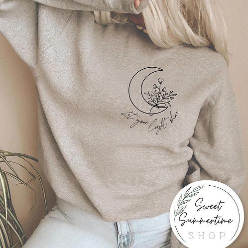 Let your light shine shirt or sweatshirt