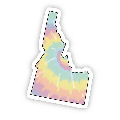 Idaho tye die Sticker