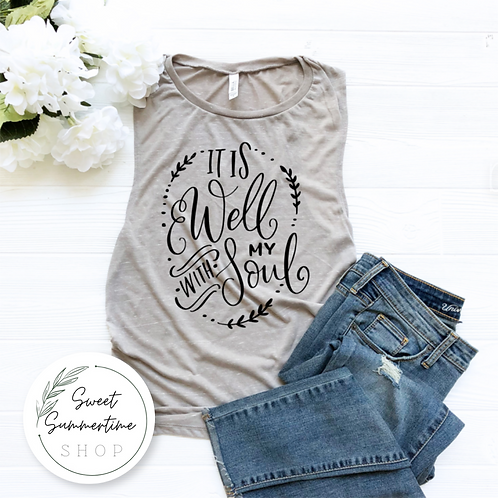 It is well with my soul shirt or tank