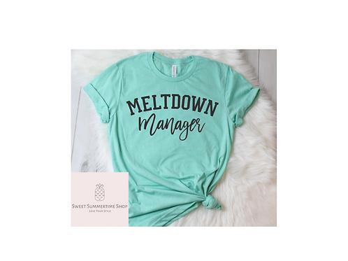 Meltdown Manager Shirt