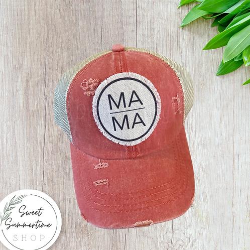 Mama patch hat