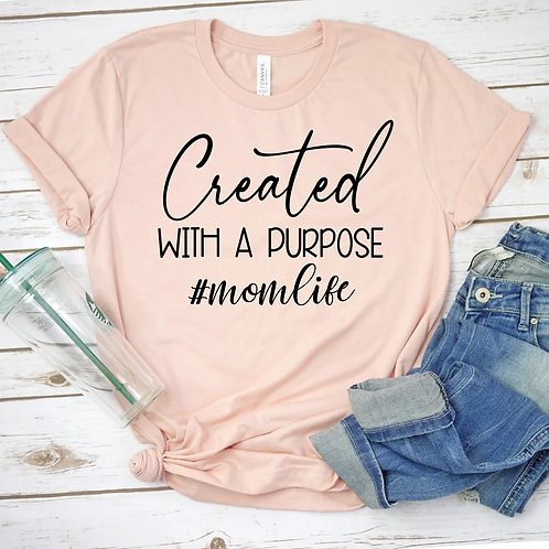 Created With A Purpose Fundraiser Tee