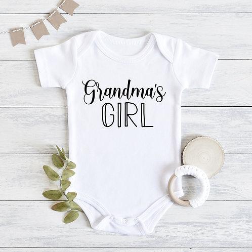 Grandma's Girl Baby Outfit