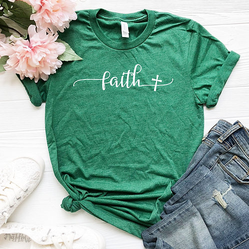 Faith  -  womens t shirt