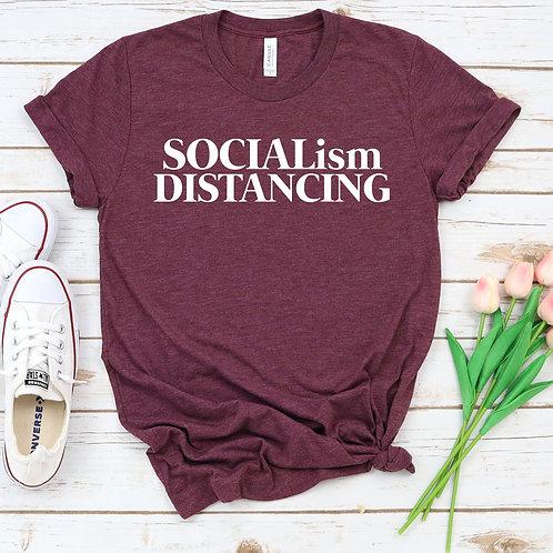 Socialism Distancing -  T Shirt