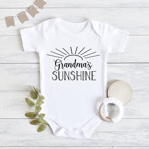 Grandma's Sunshine Baby Outfit