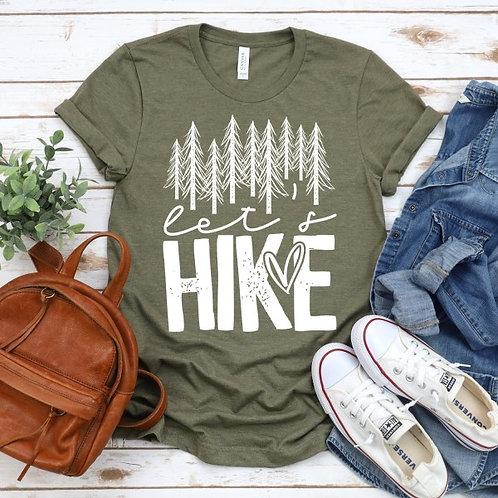 Let's Hike Tee Shirt
