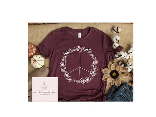 Floral Peace Shirt