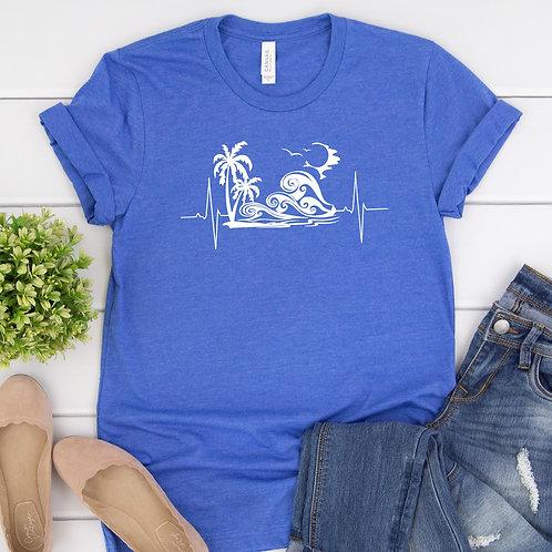 Beach is Life - Ocean waves - Ocean is Life - women's T Shirt