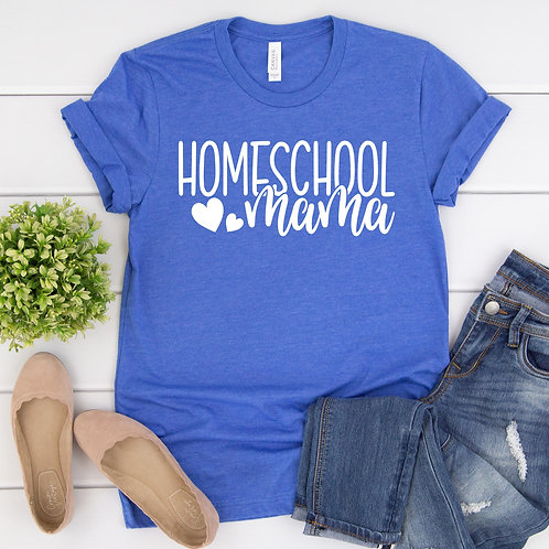 Homeschool Mama tee shirt