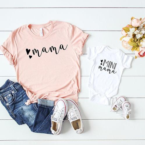 Mama and Mini Mama Matching Mom and Baby set