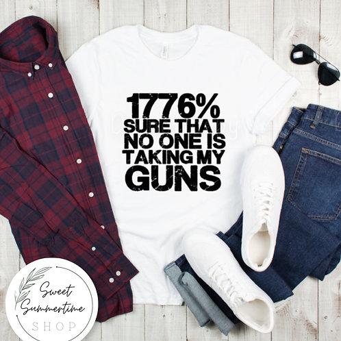 1776% Sure shirt