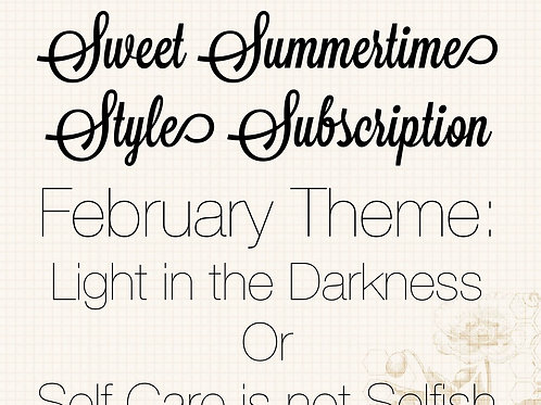February Style Subscription Package