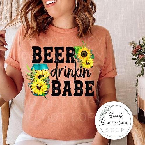 Beer Drinkin Babe