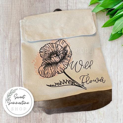 Wildflower rucksack