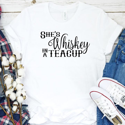 Whiskey in a teacup Women's T Shirt