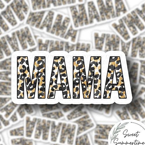 Mama leopard Sticker