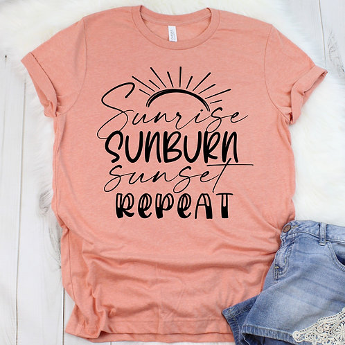 Summer Sunrise -  T Shirt