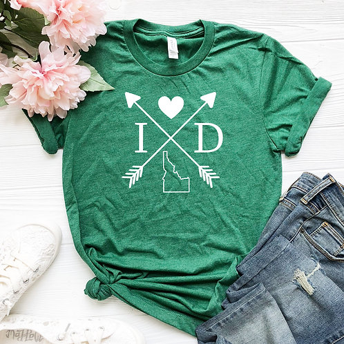 Idaho State Shirt - Idaho Love - Women's T Shirt