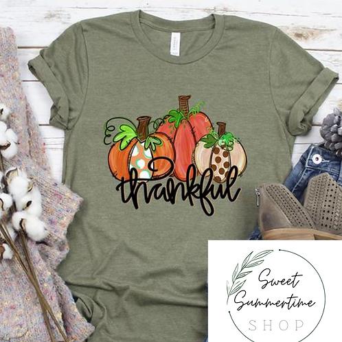 Thankful  tee shirt