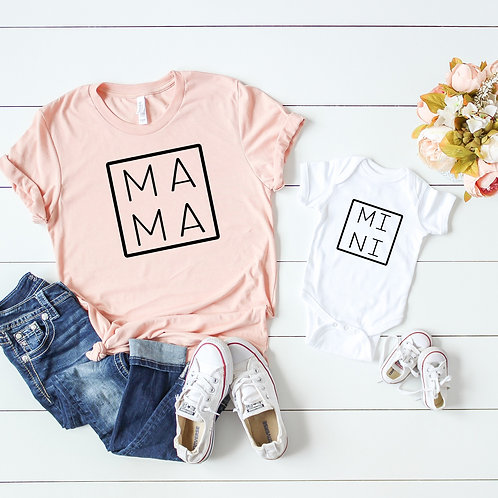 Mama and Mini Matching Mom and Baby set