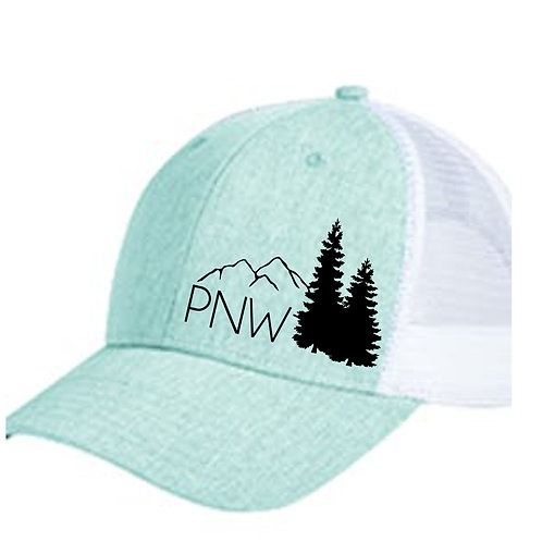 Pacific Northwest Hat - Trucker hat - PNW Hat