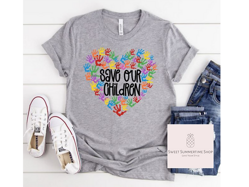 Save Our Children Awareness Shirt