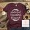 Thumbnail: Grateful Thankful Blessed Shirt