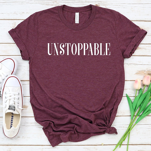 Unstoppable- Racerback - Muscle Tank