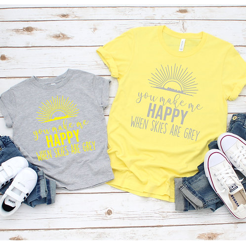You are my Sunshine-  Matching Mommy and me set - Mother's Day