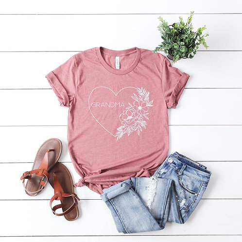 Grandma floral Shirt