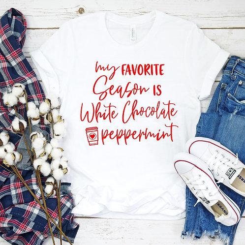 White Chocolate Peppermint Tee