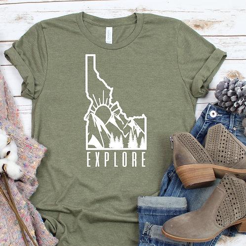 Explore Idaho Women's T Shirt
