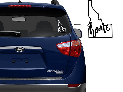 Idaho Home Car Decal