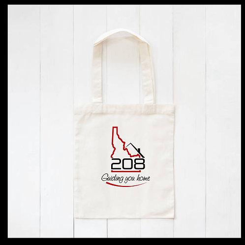 Relocate 208 Canvas Tote Bag