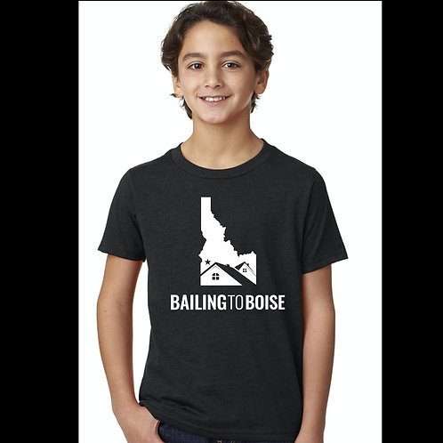 Youth Bailng to Boise T shirt